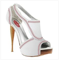 BASEBALL + FASHION = What softball player wouldnt want a pair of these for his girl???