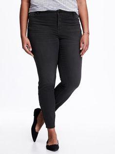 3ab9fdfea6a Hi-Rise Plus-Size Rockstar Jeans Rockstar Jeans