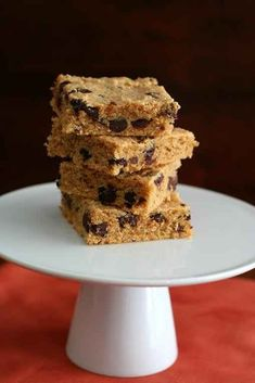 Peanut Butter Chocolate Chip Blondies | 31 Healthy Ways People With Diabetes Can Enjoy Carbs