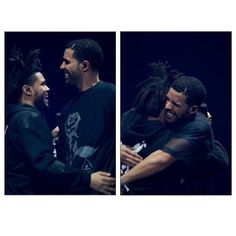 """Drake and Abel....let me get in the middle and we can have a """"party"""""""