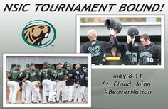 The BSU baseball team is NSIC TOURNAMENT BOUND! Who's excited?! Bemidji State University, Cool Things To Buy, Dating, Baseball, Cool Stuff To Buy, Baseball Promposals, Quotes, Relationships