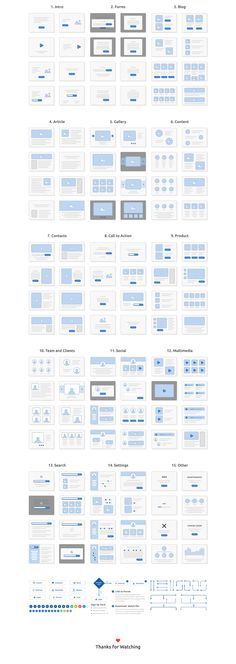 Skeleton Wireframing Kit will help you easily plan and map out all your web projects. Focus on the user flow and storyboarding to create perfect low-fidelity prototypes. This set includes 120 screens for web across 15 content categories, fully editable in .Sketch and Photoshop format