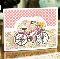 Stamps and Dies - Stamping Supplies - Scrapbooking Mom Cards, Cards For Friends, Hand Made Greeting Cards, Greeting Cards Handmade, Scrapbook Cards, Scrapbooking, Bicycle Cards, Birthday Cards For Women, Friendship Cards