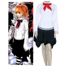 Death Note Amane Misa Halloween Cosplay Costume For Sale