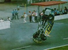 #15 Wrangler Ford Nascar Crash, Nascar Race Cars, Old Race Cars, Dirt Racing, Auto Racing, Nascar Wrecks, Ricky Bobby, American Racing, Daytona 500