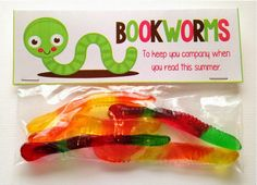 Mrs. Gilchrist's Class: End of Year Treats :) Bookworms Freebie and Tutorial