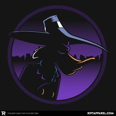 Terror that Flaps in the Night T-Shirt - Darkwing Duck T-Shirt is $13 today at Ript!