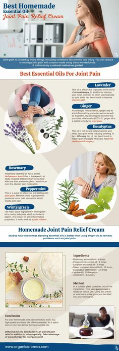 Best Homemade Essential Oil Joint Pain Relief Cream