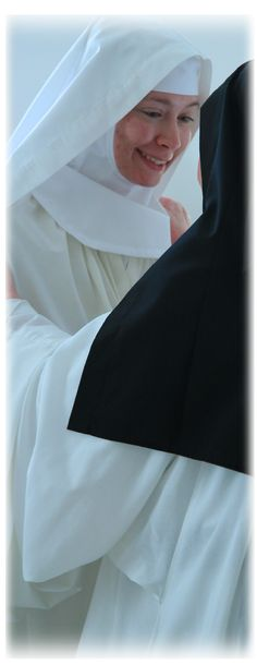 Cistercian nuns  The Clothing of Sister Miriam  & Sister Mary Frances.