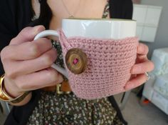 diy crochet cup cozy