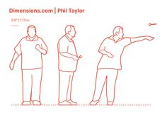 Phil Taylor is a British former professional darts player who dominated the sport for more than 2 decades. Phil Taylor began playing the sport in 1986 and throughout the span of his career he won more than 214 professional tournaments, 85 major titles, and 16 World Championships. Downloads online #sports #darts #athletes