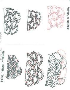 Tangle Pattern  Bushez or Shrubz