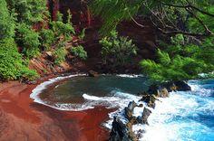RED SAND BEACH Maui, HI, Kula, Hawaii