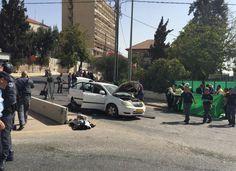 Un palestino causa ocho heridos al atacar un estación del tranvía de Jerusalén