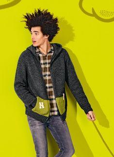 Mag. 181 - #08 Hooded cardi   Buy, yarn, buy yarn online, online, wool, knitting, crochet   Buy Online