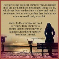 Wisdom To Inspire The Soul: Some people always find faults.