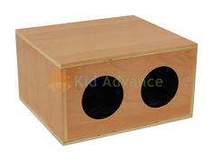 gonna make my own Montessori mystery box out of cardboard and see if he can identify shapes (triangle, circle, square)