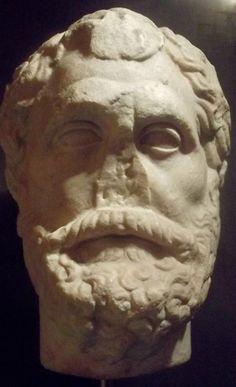 Talete di Mileto, copia romana da originale del IV sec. a. C. Firenze, palazzo Medici-Riccardi