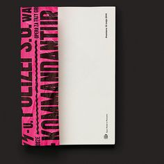 The Threepenny Opera on Editorial Design Served