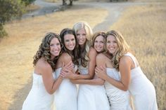 Blackwell's favorite photo of the bunch? This one: | These Five Sisters Found An Adorable Way To Thank Their Parents For Paying For All Of Their Weddings