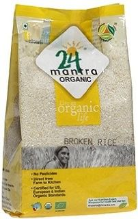 24 Mantra Organic Broken Rice - Broken rice is a grade of rice consisting of grains broken in the milling process On milling oryza sativa, commonly known as asian rice or paddy rice, produces around 50 percent brown rice then approximately 16 percent broken rice, 20 percent husk, 14 percent bran and meal
