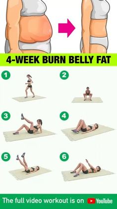 Full Body Gym Workout, Lower Belly Workout, Gym Workout Videos, Gym Workout For Beginners, Fitness Workouts, Easy Workouts, Workout Routines, Workout Plans, Belly Fat Burner Workout