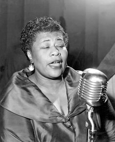 "On this day in 1945, Ella Fitzgerald and the Delta Rhythm Boys recorded ""It's Only a Paper Moon"" Photo credit: http://www.allaboutjazz.com/media/large/f/1/f/a69c640c8bba067ba191d7eac3890.jpg"