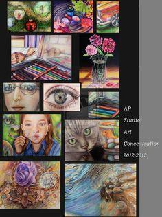 My ap portfolio concentration (2012-2013) by NgaNguyen712.deviantart.com on @deviantART