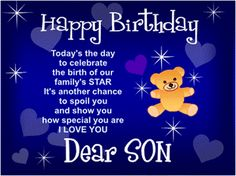 happy birthday son images free happy birthday son birthday