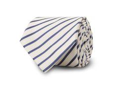The White Penwith Stripe Tie