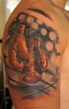 70 Boxing Gloves Tattoo Designs For Men - Swift Ink Ideas Bad Tattoos, Body Art Tattoos, Small Tattoos, Sleeve Tattoos, Tattoos For Guys, Cool Tattoos, Tatoos, Mens Tattoos, Turtle Tattoos