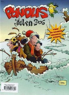 """Pondus - julen 2006"" av Frode Øverli Comic Books, Comics, Reading, Cover, Art, Art Background, Kunst, Reading Books, Cartoons"