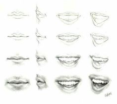 Realistic mouth