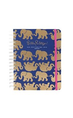 Lilly Pulitzer Large Agendas