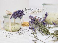 Body Scrub mit Lavendel