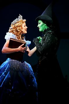Eden Espinosa (Elphaba) and Megan Hilty (Glinda) perform 'For Good' in WICKED: The Musical
