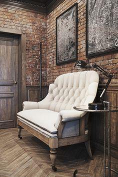 Creative Industrial Vintage Decor Designs For A Brick & Steel Home Vintage Industrial Design No. 10941 #homeindustrialdecor #industrialvintage #industrialdecor