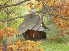 Cabin in the Hudson River Valley, New York. Contributed by Kim Doggett.