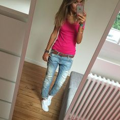 Pink Lady #ootd #instalook #instafashion #whatimwearingtoday #tenuedujour #pink #zara #stansmith #adidas bijoux#au34bis et #lesfutiles