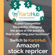 KartzHub repricer would help you to achieve sales with maximum profit and added advantage to win the buy box. Sign up today to boost your online sales. Request for a demo today: #OnlineSellers #Boostsales #Ordermanagementsoftware #InventoryManagementsoftware #MultiChannelProductManagementSoftware Amazon Stock, Inventory Management Software, Buy Boxes, Fast Growing, Online Sales, Online Marketing, Sign, Signs, Board