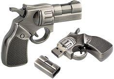 Dillinger Derringer 4GB Flash Drive - Geek Tools - Office Desk Toys, Geek Swag & Cool Gadgets at KlearGear.com