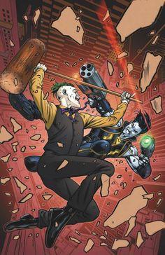 Lobo #7 - The Joker variant cover by Neil Edwards *
