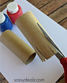 toilet paper roll fireworks stamp craft