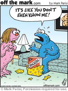Cookie Monster & People Files