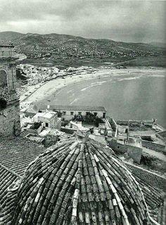Peñíscola,Castellón,1962.Fotografía de Ramón Dimas.