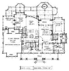 House Plan on the Drawing Board #1407 – HOUSE PLANS BLOG
