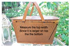 The Polka Dot Closet: How To Sew A Picnic Basket Liner