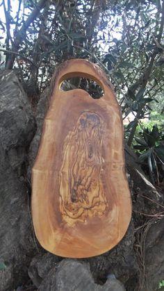 Olive Wood Cutting Board: