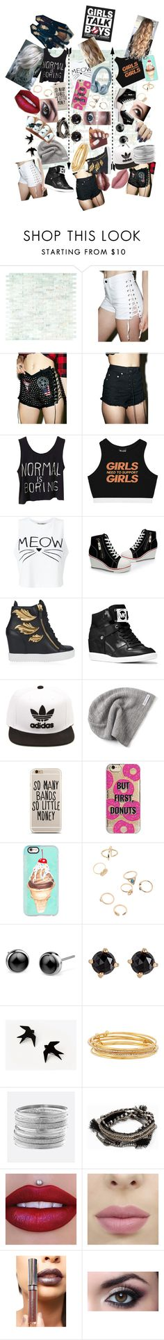 """Girls Talk Boys(5 Seconds Of Summer)"" by only-selflove ❤ liked on Polyvore featuring WALL, Tripp, Hazmat Design, Ecru Lab, Minga, Miss Selfridge, Giuseppe Zanotti, MICHAEL Michael Kors, adidas and Converse"