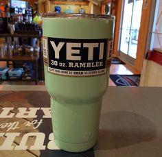 Yeti Colored Rambler 30 Seafoam Green Cup